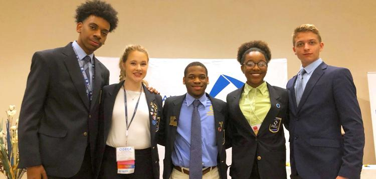 Louisiana DECA High School Association chooses leadership team