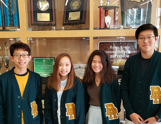 Four More BRMHS Students Score 36 on the ACT