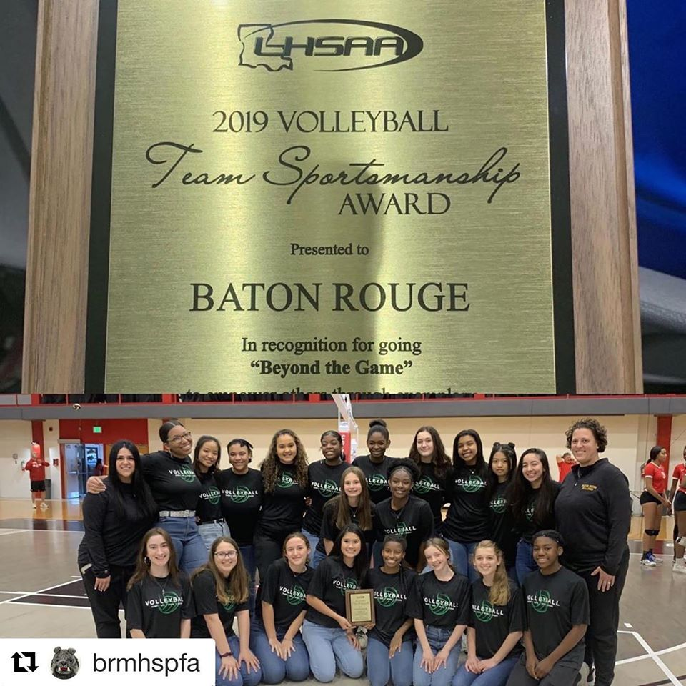 BRMHS Volleyball Team Honored