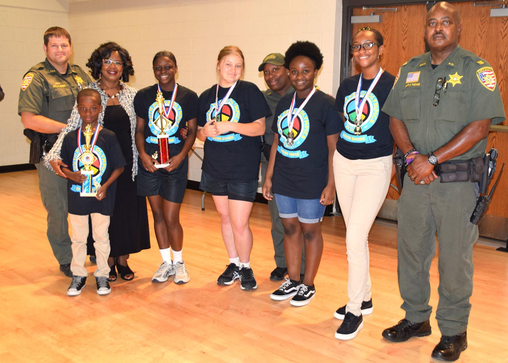 Youth Peace Olympics standouts honored