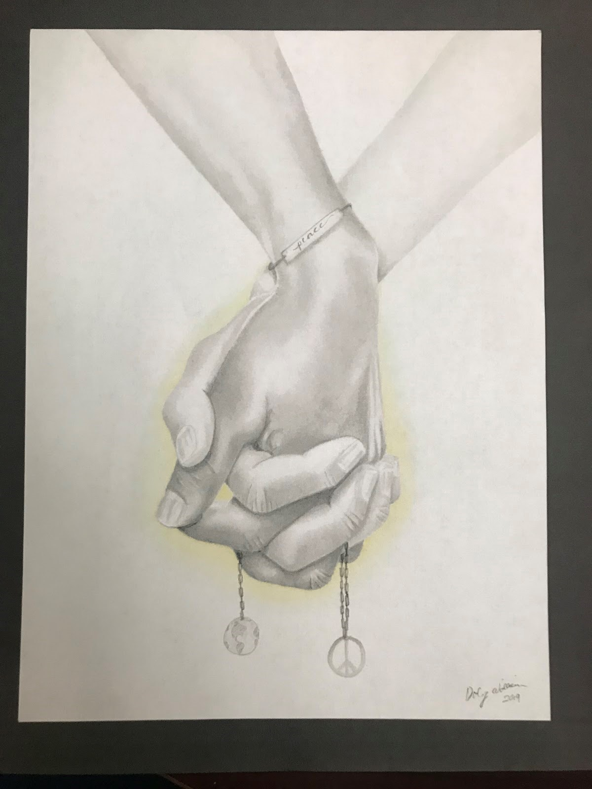 Daly Williams Louisiana High School Art Winner