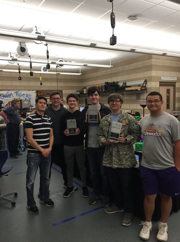 BRMHS Won New Orleans Robotics Awards