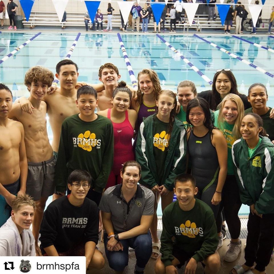 BRMHS Bulldogs Compete in STATE Swim Meet