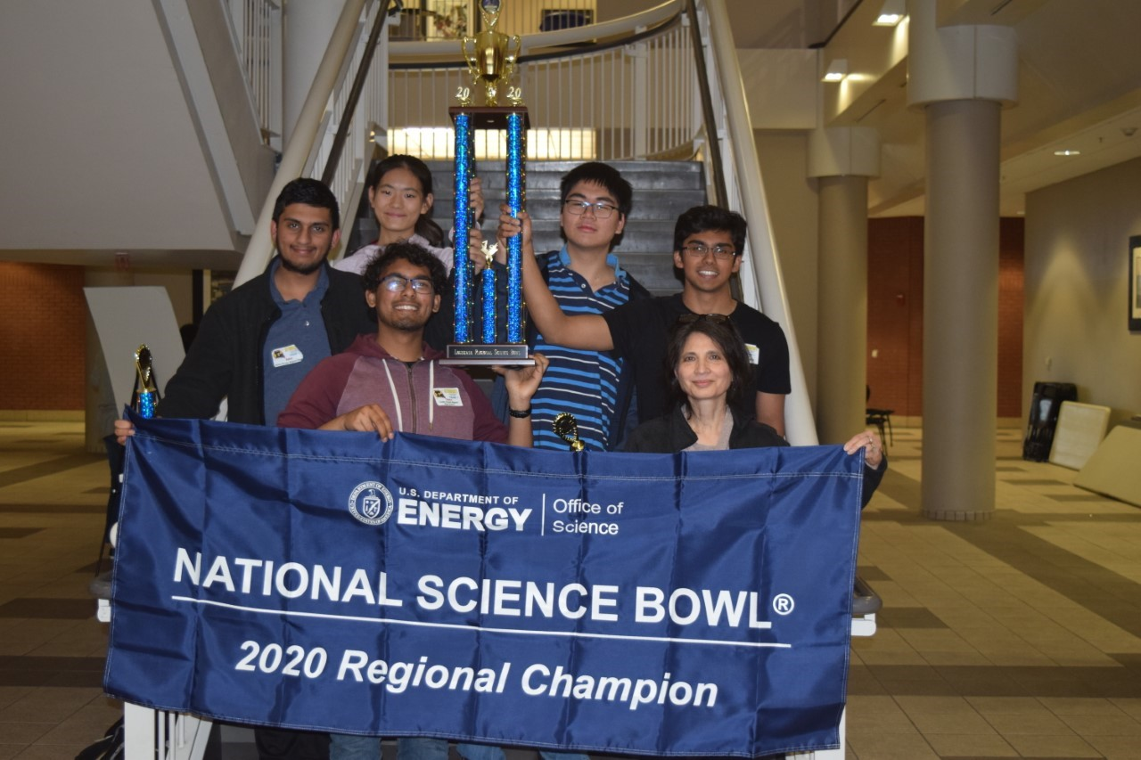 BRMHS Wins 2020 Louisiana Regional Science Bowl