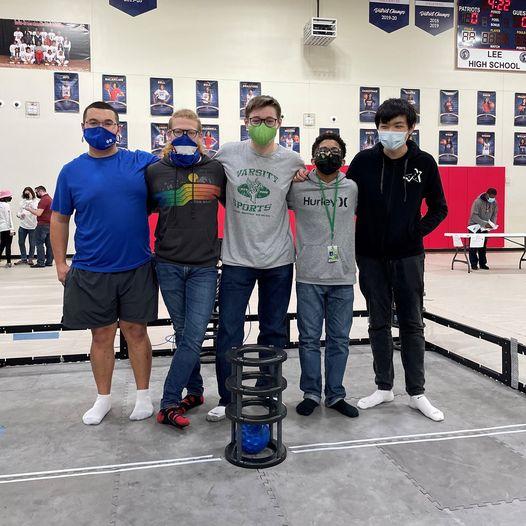 BRMHS Robotics Team won the Tournament Champions and Robot Skills Awards at the Vex Robotics Tournament