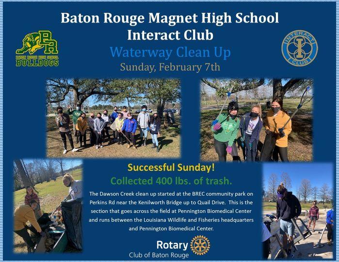 Baton Rouge Magnet High School Interact Club